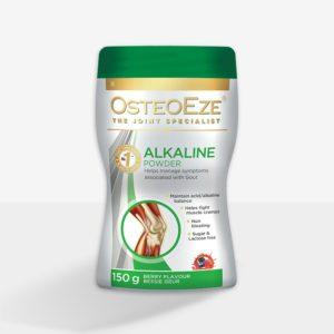OsteoEze®Alkaline Powder gout attacts